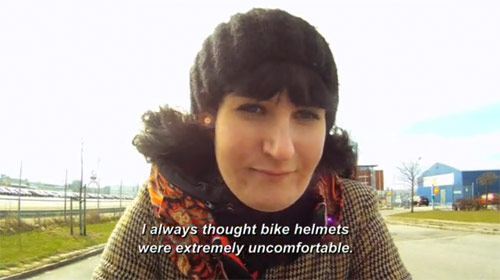 The Invisible Bike Helmet by Anna Haupt, Terese Alstin