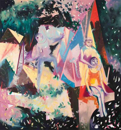 Artist painter Jaqueline Cedar