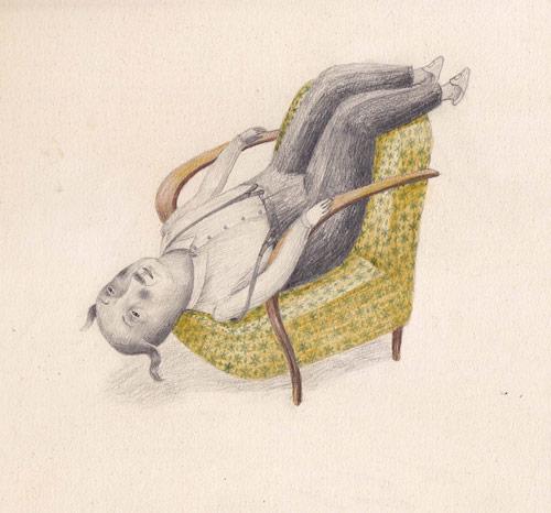 Drawings by artist Joanna Concejo
