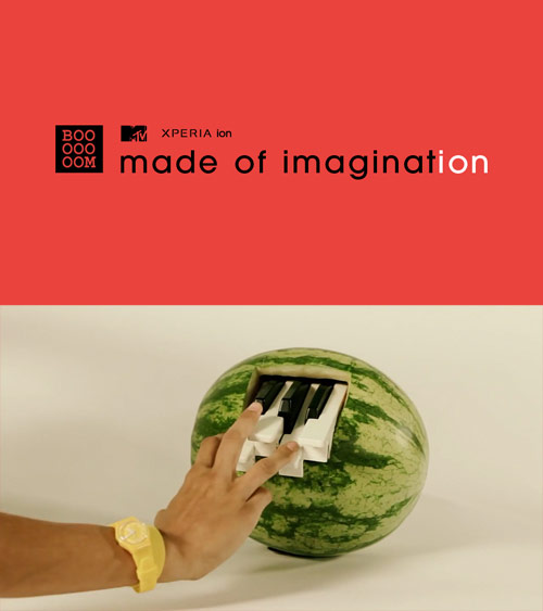 Booooooom & MTV / made of imagination