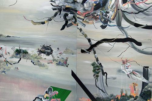 Artist painter Pepa Prieto