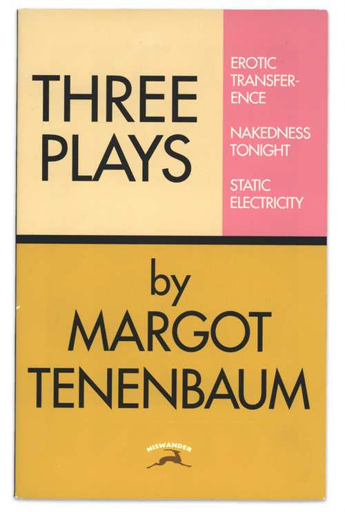 The Royal Tenenbaums book covers