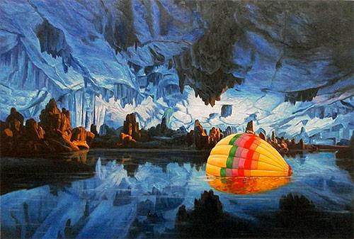 Artist painter Shay Kun