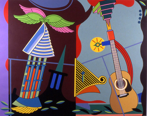 Artist painter Trevor Winkfield