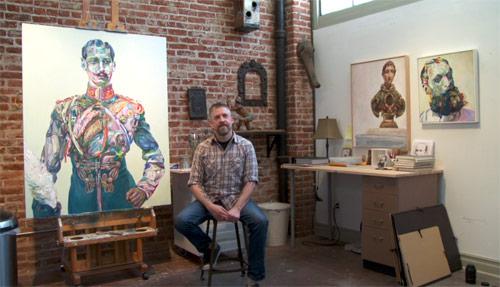 Artist painter Aaron Smith