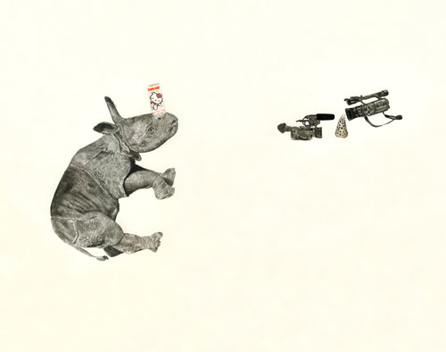 Drawings by artist Adam Batchelor