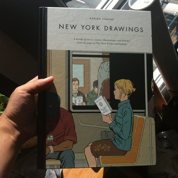 new adrian tomine book! out next month!