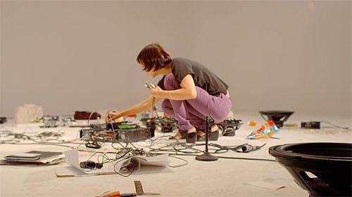 Deaf sound artist Christine Sun Kim