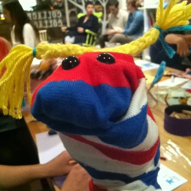 sock puppet i made
