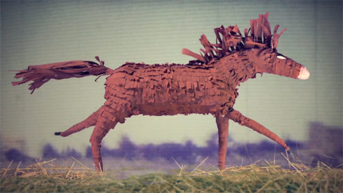Hundred Waters Thistle stop-motion animation