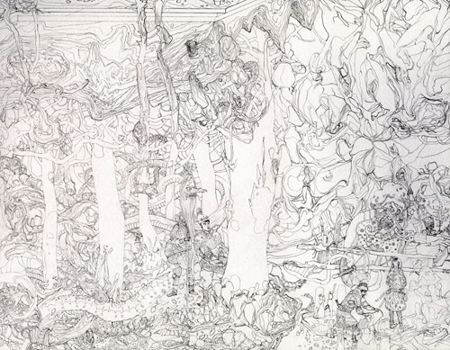 Artist Jacob Magraw