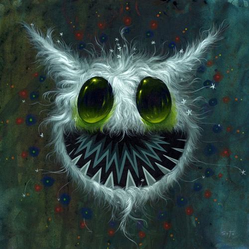 Artist painter Jeff Soto
