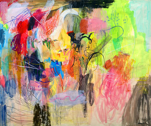 Artist painter Jennifer Sungah Ko