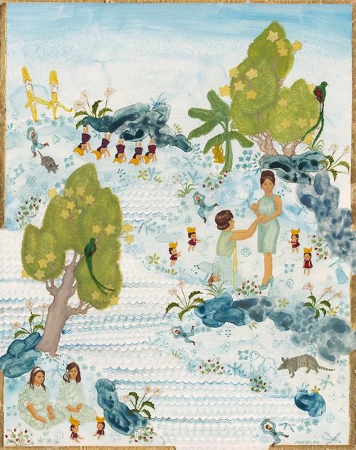 Artist painter Larissa Bates