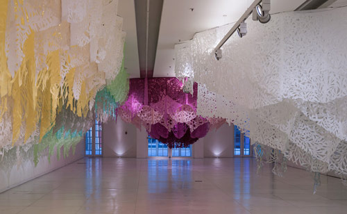 Installation by artist Manuel Ameztoy