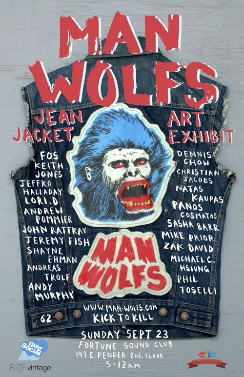 Manwolfs art show vancouver