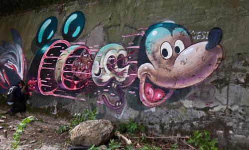 Artist Nychos