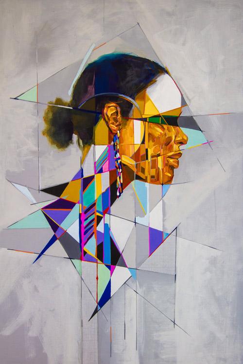 Artist painter Samuel Rodriguez
