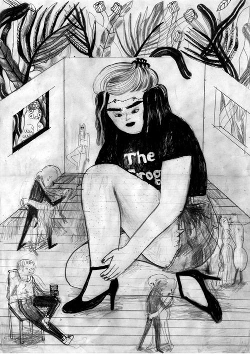 Illustrator Sarah Mazzetti