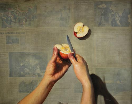 Artist painter Shin-Young An