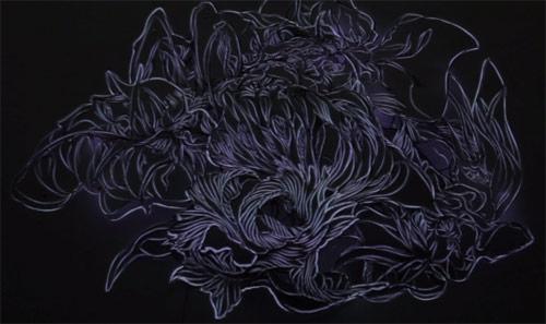 Chiaroscuro by Sougwen