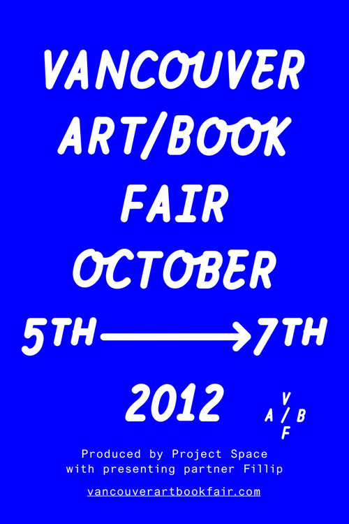 VABF vancouver art book fair