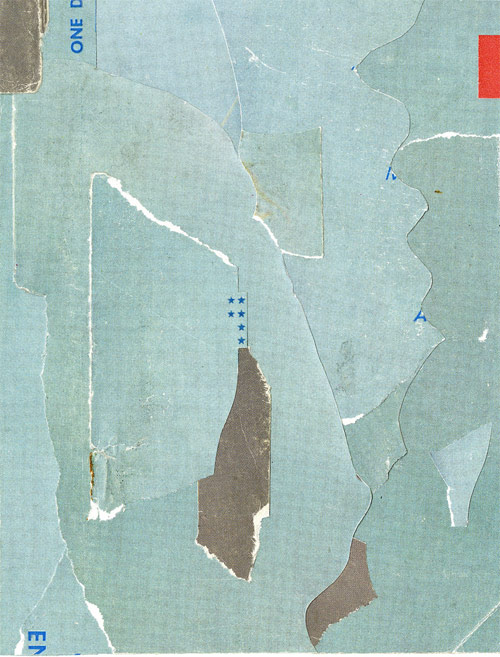 Collages by Anthony Gerace
