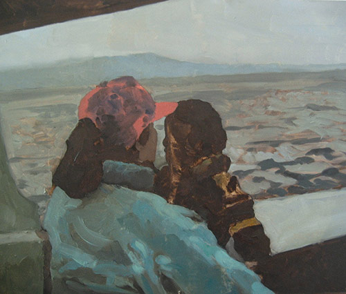 Artist painter J.P. Acuña