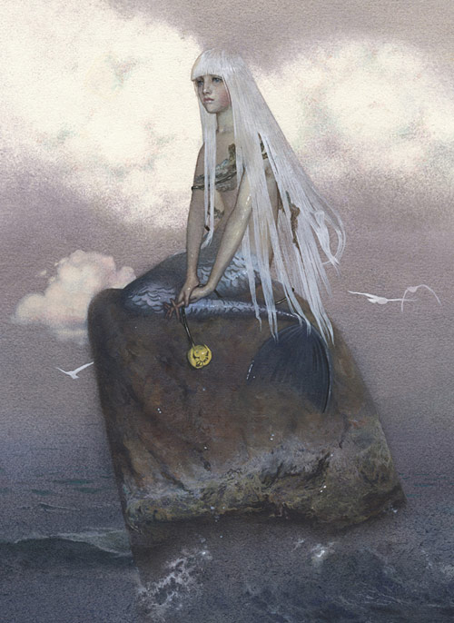 Artist illustrator Nadezhda Illarionova