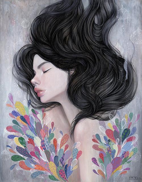 Artist painter Stella Im Hultberg