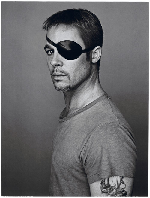 Brad Pitt portraits in Interview Magazine