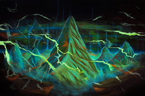 Artist painter Bruno 9li