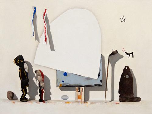 Artist painter Fiona Ackerman