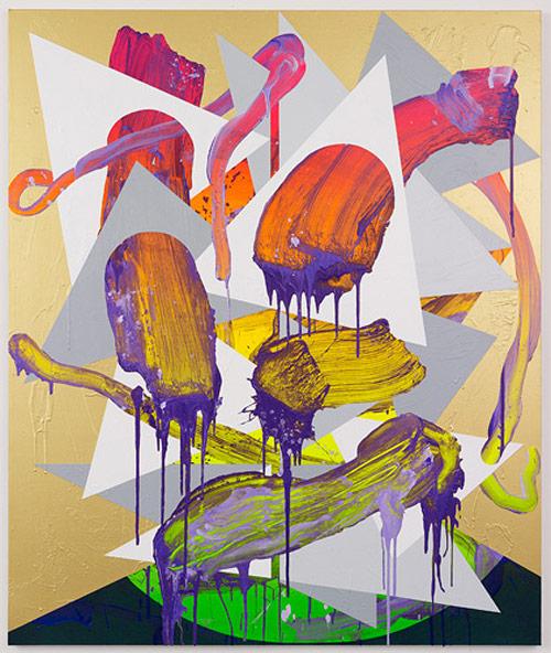 Artist painter Luke Rudolf