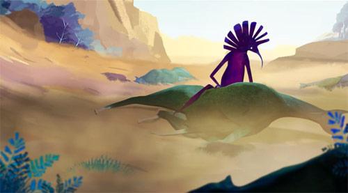LUX animation by Juliette Oberndorfer