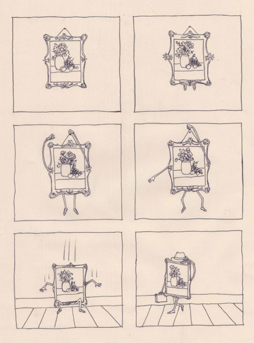 Drawings by artist Natalya Lobanova