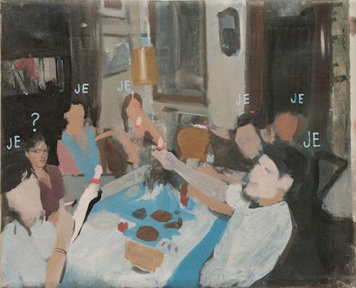 Artist painter Pere Llobera