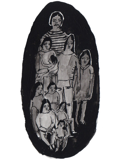 Drawings by Pia Bramley