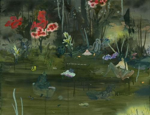 Artist painter Sofia Arnold