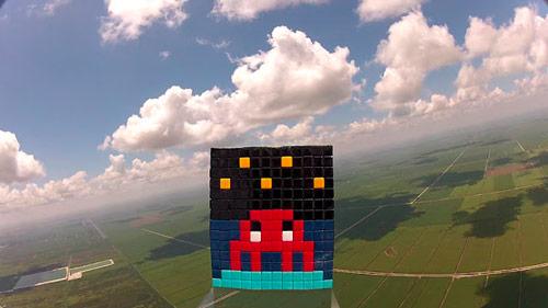 Invader invades space