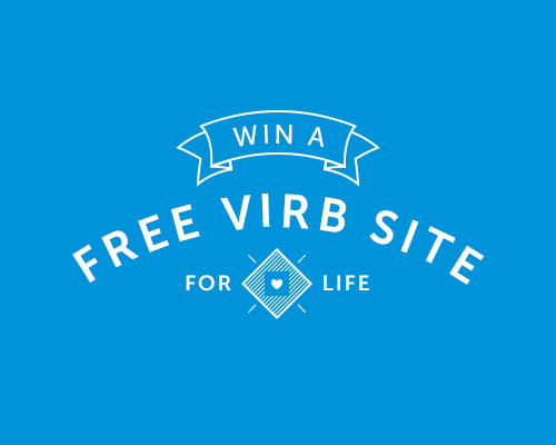 Free Website for Life / Virb Giveaway
