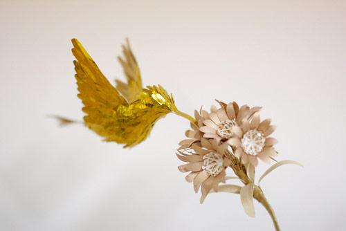 Beija-flores de ouro por Diana Beltran Herrera