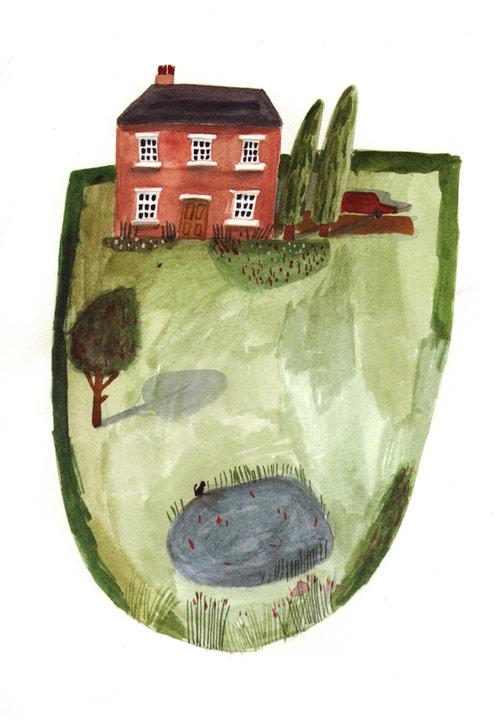 Artist illustrator Lizzy Stewart