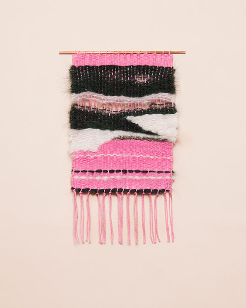 Weavings by Mimi Jung Brook and Lyn