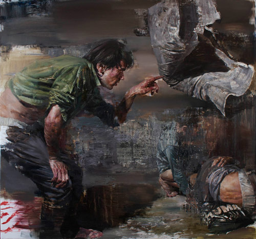 Artist painter Dan Voinea