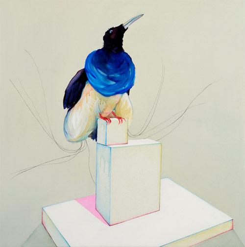 Artist painter Julian Meagher