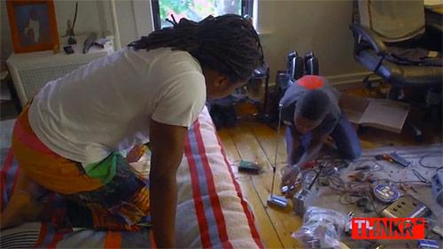 Kelvin Doe / 15-year old self-taught engineering prodigy from Sierra Leone