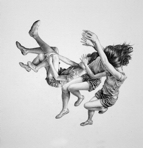 Drawings by artist Leah Yerpe