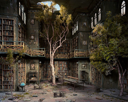 Dioramas by photographer Lori Nix