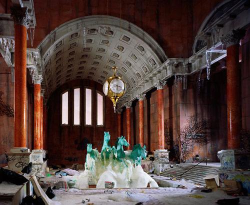Dioramas by photographer Lori Nix